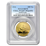 1/2 oz Gold Pandas (PCGS Certified)
