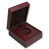 Silver Round (Presentation, Gift & Display Boxes)