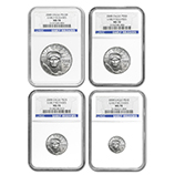 Platinum Eagle Coin Sets (NGC Certified)