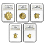 Gold Kangaroo Coin Sets (NGC Certified)