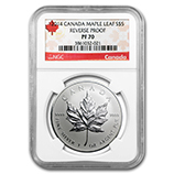 Silver Maple Leaf Proof Coins (NGC Certified)