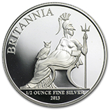 Fractional Silver Britannias (Proof)