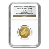 1/4 oz Proof Gold Maple Leafs (NGC Certified)