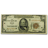 $5 - $100 Federal Reserve Bank Notes