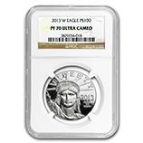1 oz Proof Platinum Eagles (NGC Certified)