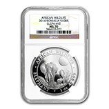 Silver Elephant Series (NGC Certified)