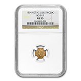 NGC California Fractional & Territorial Gold Coins