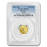 1/10 oz Gold Libertads (PCGS Certified)