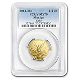 1/4 oz Gold Libertads (PCGS Certified)