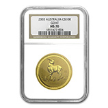 Perth Mint Gold (2003 Goat Coins) (NGC Certified)