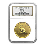 Perth Mint Gold (1999 Rabbit Coins) (NGC Certified)