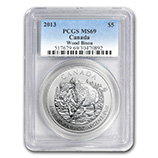 RCM Silver Wildlife Series (PCGS Certified)