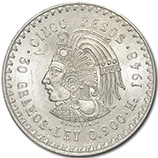 Mexican Silver Vintage Coins