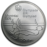 1976 Silver Olympic Coins