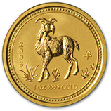 Perth Mint Gold (2003 Goat Coins)