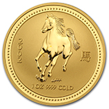 Perth Mint Gold (2002 Horse Coins)