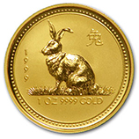 Perth Mint Gold (1999 Rabbit Coins)