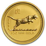 Perth Mint Gold (1998 Tiger Coins)