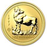 Perth Mint Gold (1997 Ox Coins)