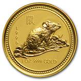 Perth Mint Gold (1996 Mouse Coins)