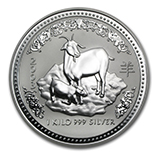 Perth Mint Silver (2003 Goat Coins) (Series 1)