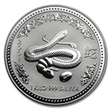 Perth Mint Silver (2001 Snake Coins) (Series 1)
