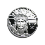 1/2 oz Proof Platinum Eagles