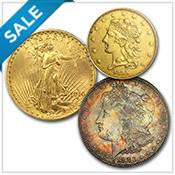 Collectibles & Rare Coins - Fall Savings