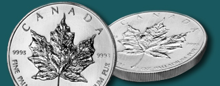 RCM Royal Canadian Mint (Palladium Coins)