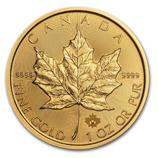 IRA-Approved Gold Maple Leafs