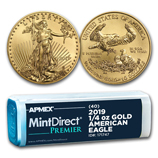 1/4 oz Gold Eagles (MintDirect®)