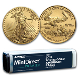 1/10 oz Gold Eagles (MintDirect®)