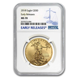 1 oz Gold Eagles (NGC Certified)