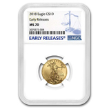 1/4 oz Gold Eagles (NGC Certified)