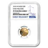 1/10 oz Proof Gold Eagles (NGC Certified)