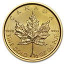 1/2 oz Gold Maple Leafs