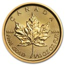 1/10 oz Gold Maple Leafs