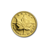 1/4 oz Proof Gold Maple Leafs