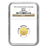1/10 oz Proof Gold Maple Leafs (NGC Certified)