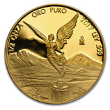 1/2 oz Proof Gold Libertads