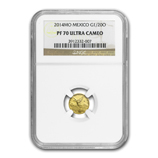 1/20 oz Proof Gold Libertads (NGC Certified)