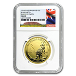 1 oz Gold Kangaroos (NGC Certified)