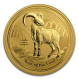 Perth Mint Gold (2015 Goat Coins)