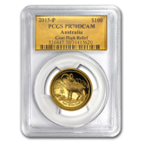 Perth Mint Gold (2015 Goat Coins) (PCGS Certified)