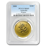 Gold Lunar Series 1 (1996-2007) (PCGS Certified)