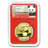 1 oz Gold Pandas (NGC Certified)