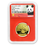 1/2 oz - 15 gram Gold Pandas (NGC Certified)