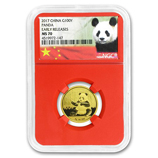 1/4 oz Gold Pandas (NGC Certified)