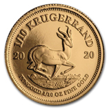 1/10 oz Proof Gold Krugerrands