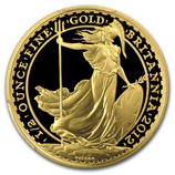 1/2 oz Gold Britannias (Proof)